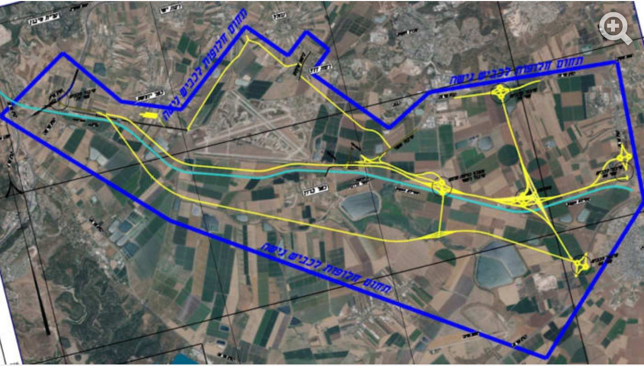 """משרד החקלאות נגד הקמת שדה תעופה בעמק יזרעאל: """"ייפגע בתוצרת"""""""